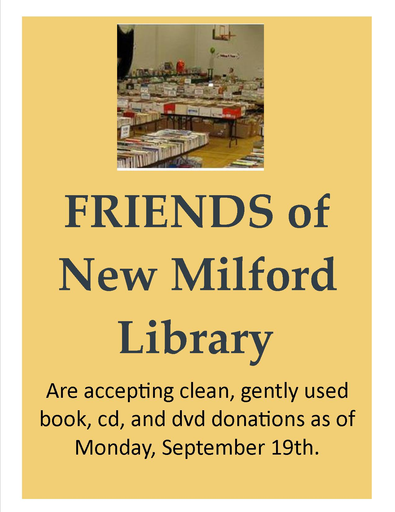 New milford connecticut public library happens